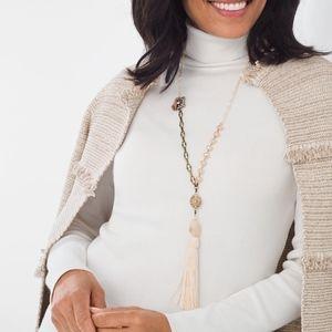 CHICO'S Lynn Tassel Necklace